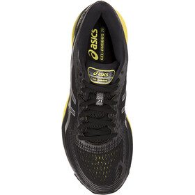 asics Gel-Nimbus 21 Shoes Herr black/lemon spark